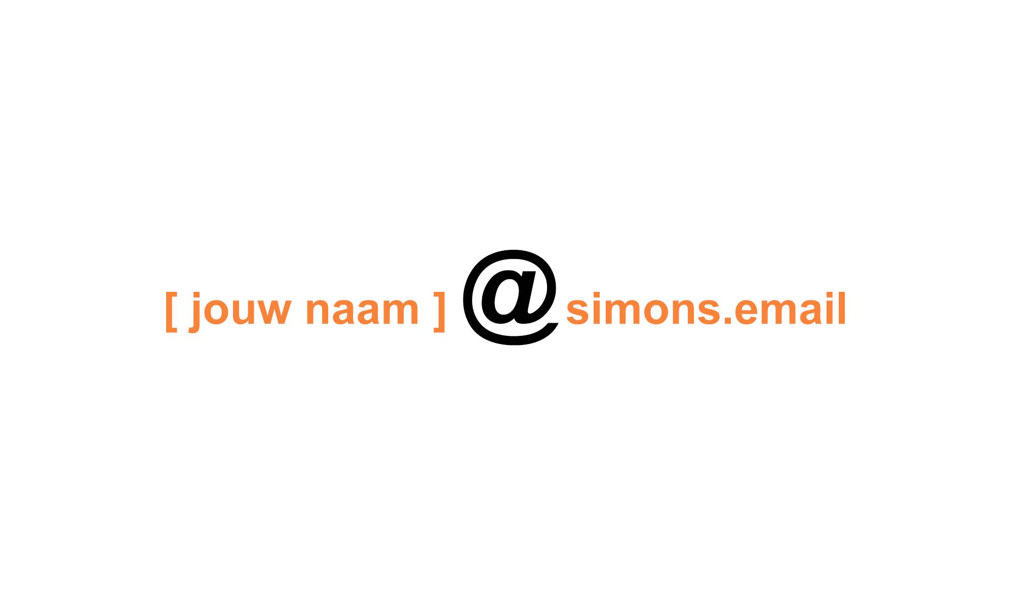 email service voor familieleden